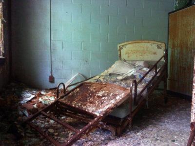 Broken Hospital Bed