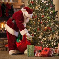 Christmas Tree and Father