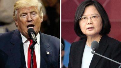 Donald Trump and Tsai Lng-Wen