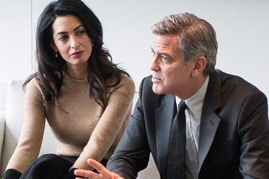 جارج کلونی اور ان کی اہلیہ کے درمیان طلاق کی خبریں