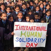 International Human Solidarity Day