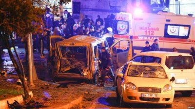 Istanbul Car Bomb Blast