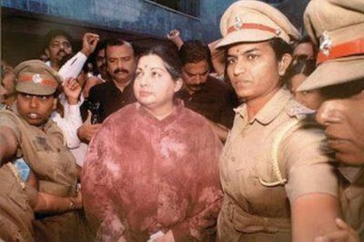 Jayalalithaa Arrest