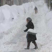 North Dakota Snowfall