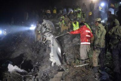 PIA Plane Crashes