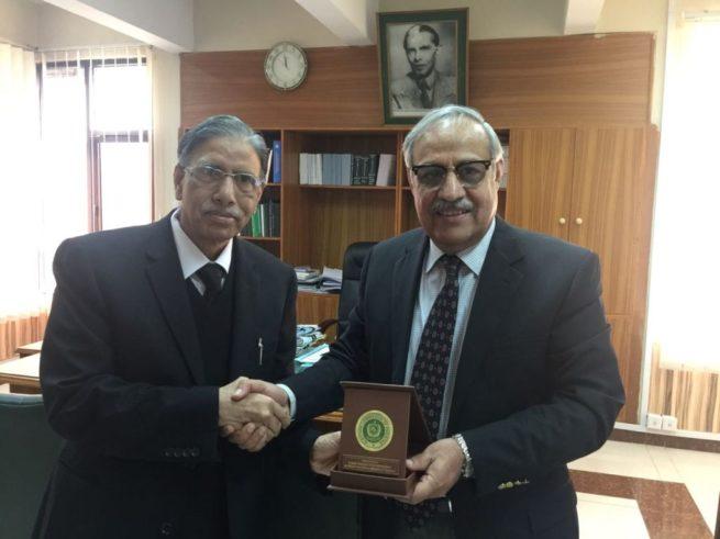 Qazi Khalid Ali Tour Shield Presented