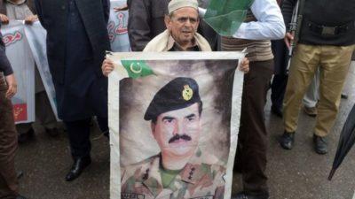 Raheel Sharif's supporters