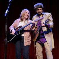 Salman Ahmed and Melissa Etheridge