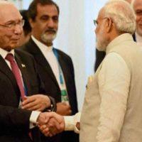 Sartaj Aziz and Modi