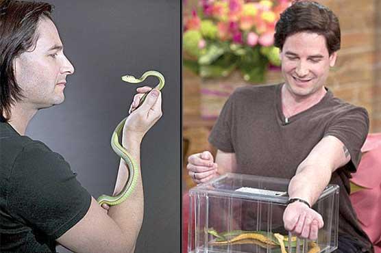 تندرست رہنے کیلئے سانپ کا زہر استعمال کرنیوالا برطانوی شہری