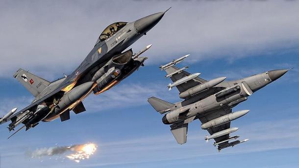 شمالی عراق پر ترک فضائیہ کی کاروائی میں 19 دہشت گرد ہلاک