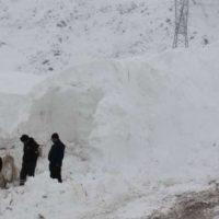 Tajikistan Snow Landslides