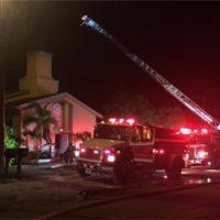 America Mosque Fire