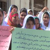 Badin Nursing Protest