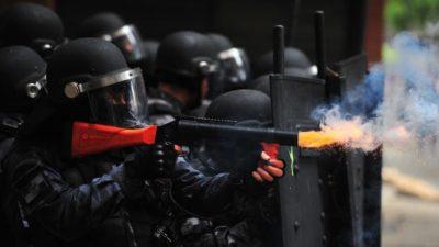 Brazil Police Clashes