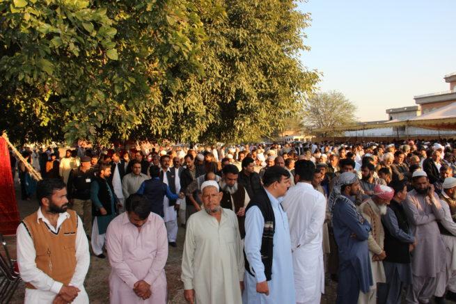 Ch Naseem Abbas Mother Funeral