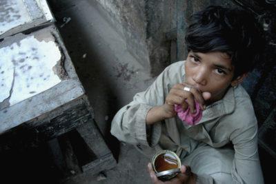 Children using Drugs