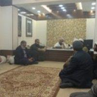 Mufti Mohammad Naeem-Meeting
