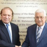 Nawaz Sharif and Mahmoud Abbas