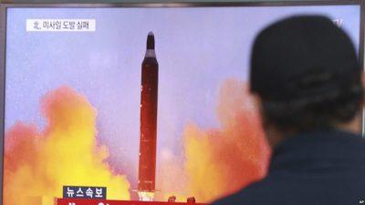 North Korea-Missiles Tested