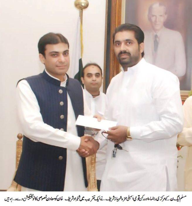Shehzad Khan and Hamza Shahbaz
