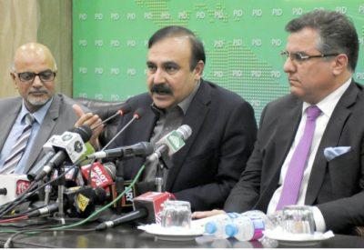 Tariq Fazal Chaudhry and Daniyal Aziz