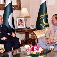 Mamnoon Hussain Meeting