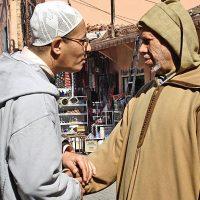 Muslims Hand Shaking