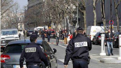 Paris Office Blast