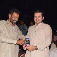 Amir Hayat Hiraj with A.D.Sahil Munir