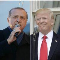 Donald Trump and Recep Tayyip Erdogan
