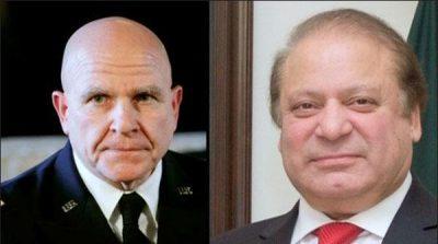 McMaster and Nawaz Sharif
