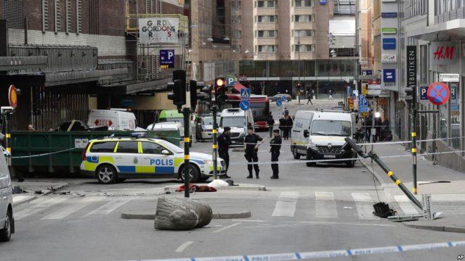 سوئیڈن حملہ: گرفتار ازبک شہری سے تفتیش جاری