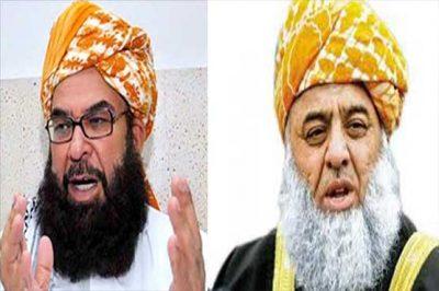Abdul Ghafoor Haidari- Maulana Fazl-ur Rehman