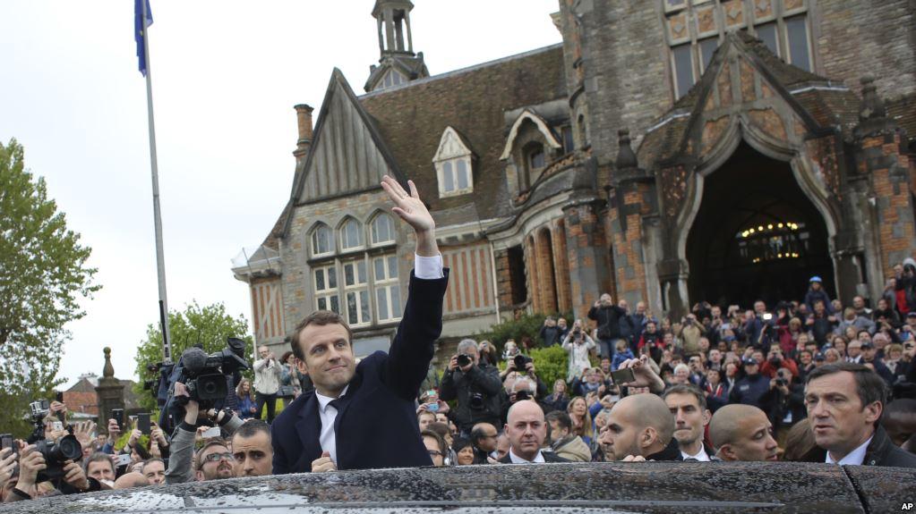 فرانس کے صدارتی الیکشن کا معرکہ ایمنل میکرون نے مار لیا