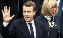 اعتدال پسند، یورپی یونین کے حامی ایمینیول میکرون فرانس کے صدر منتخب