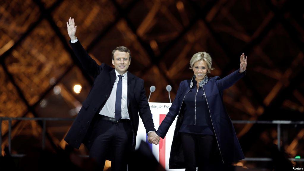ٹرمپ سمیت عالمی راہنماؤں کی میکخواں کو مبارکباد