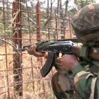 India Control Line Firing