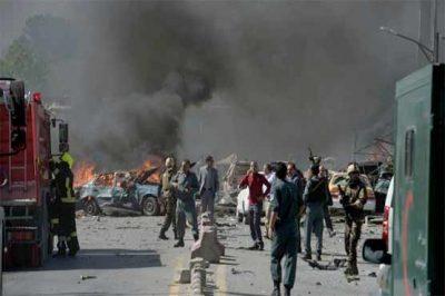 Kabul German Embassy Blast