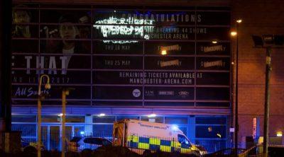 Manchester-Music Concert Blast