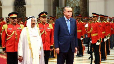 Recep Tayyip Erdogan-Kuwait Visits