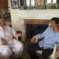 Babar Awan and Imran Khan