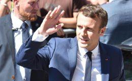 فرانسیسی پارلیمانی انتخابات میں ماکروں کی سیاسی جماعت سب سے آگے