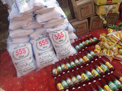 Haider Welfare Trust – distribution Ramadan Package