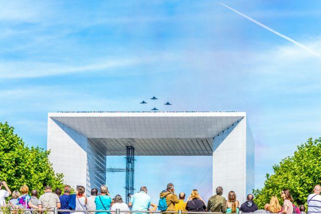 14 juillet défilé aérien 2017 - Révolution française (13)