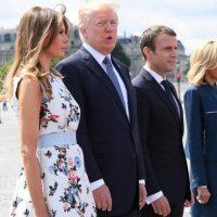 Donald Trump France Visit