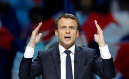 صدر فرانس ایمنوئل ماکخوں نے ملک کی پارلیمان میں  تخفیف کا منصوبہ پیش کر دیا