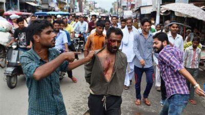 Hindus Attack Muslim Man