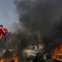 Israel Philistine Tension