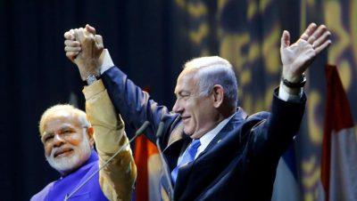 Narendra Modi-Benjamin Netanyahu